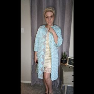 Vintage Sears quilted cozy robe